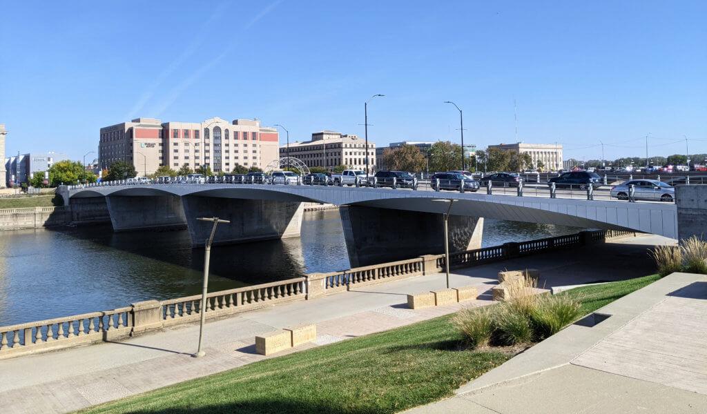 Completed Locust Street Bridge